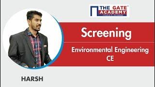 Screening | Environmental Engineering | Civil Engineering