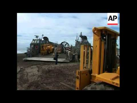 hovercraft-used-to-deliver-aid-on-tsunami-struck-island