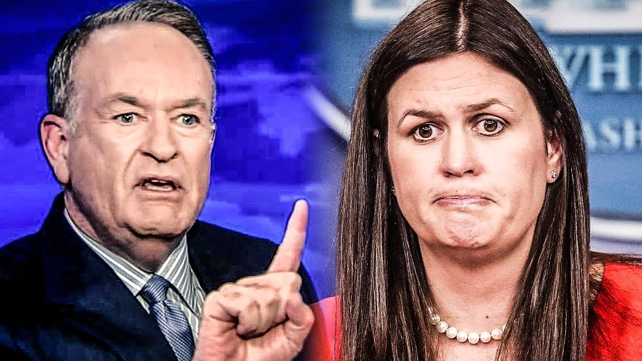 "Download Creepy Bill O'Reilly Offered To Be Sarah Huckabee Sanders' ""Hired Muscle"" During Press Briefings"