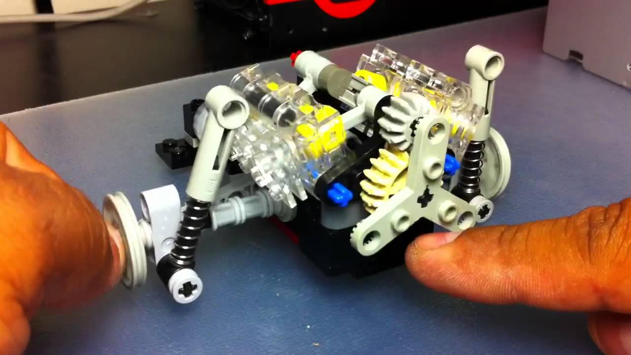Lego Technic Porsche Suspension Youtube