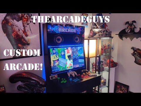 My DREAM Arcade! TheArcadeGuys 4-Player Custom Arcade Cabinet Review!