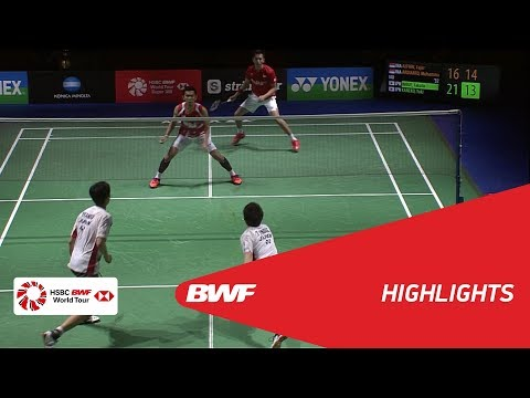 YONEX German Open 2018 | Badminton MD - F - Highlights | BWF 2018