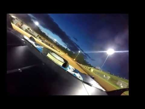 Jeff Johnson 17 late model Gopro video Friendship Motor Speedway