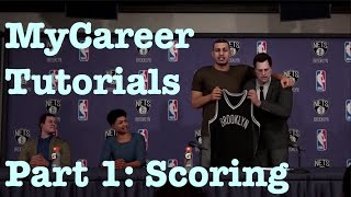 NBA 2K16 My Career Tutorial : How to Score My Career Guide : Unstoppable Offense Pace Motion #22