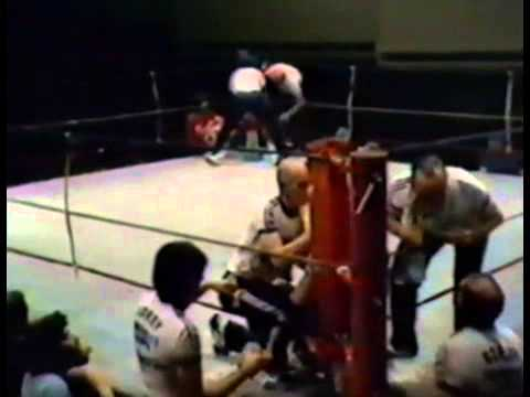 Barry Michael v Al Carter 14 September 1981 Dallas Brooks Hall, Melbourne, Victoria, Australia
