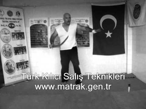 Ottoman sport Turkish kilij - sword attack techniques Türk ...
