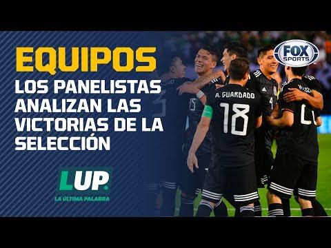 ¿México aplastó a Paraguay con una Selección B?