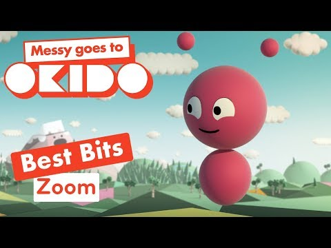 Messy Goes To Okido - Zoom's Transforming Best Bits | Cartoons For Children | Cbeebies