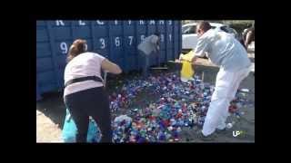 Campaña de recogida de tapones de plástico en el campus