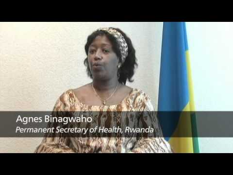 African Health Ministers Talk About the Global Fund (Rwanda Botswana and Lesotho)