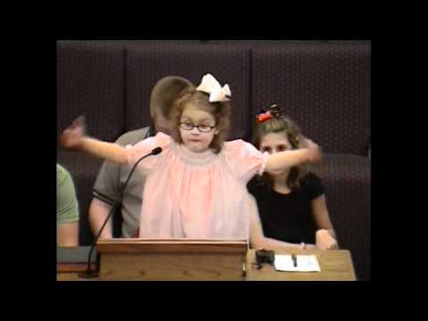 The Story of Jonah as Told by The Cutest Little Girl