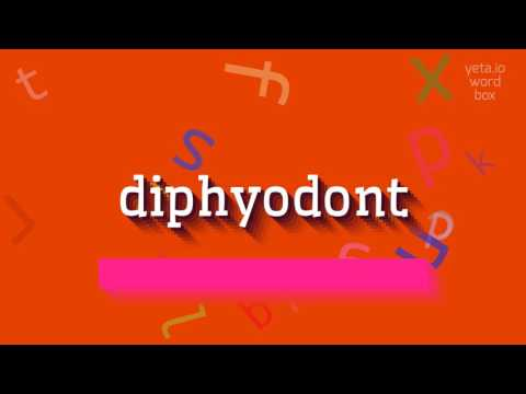 "How to say ""diphyodont""! (High Quality Voices)"