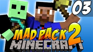Minecraft Mods - MAD PACK #3 'OBSIDIAN LONGSWORD!' with Vikkstar & Pete (Minecraft Mod - Mad Pack 2)