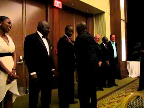 Pinning of Rotary Club of Barbados Officers 2012 - 2013