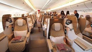 Boeing 777-200LR Business Class Tour | Emirates Airline