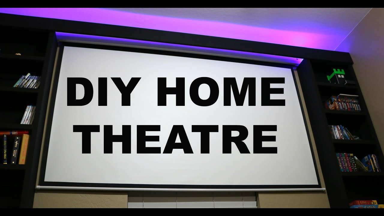 DIY Home Theatre - YouTube