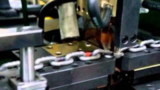 자동화 체인버트용접기 시운전 영상