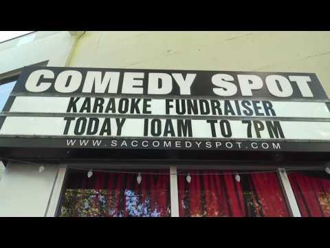 "Karaoke puts ""fun"" in fundraiser for comedy organization"