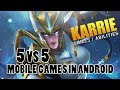 5 GAMES MOBILE ANDROID 5 vs 5