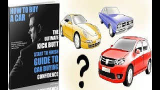 The Best Car Buying Guide Review - Does It Work or Scam?