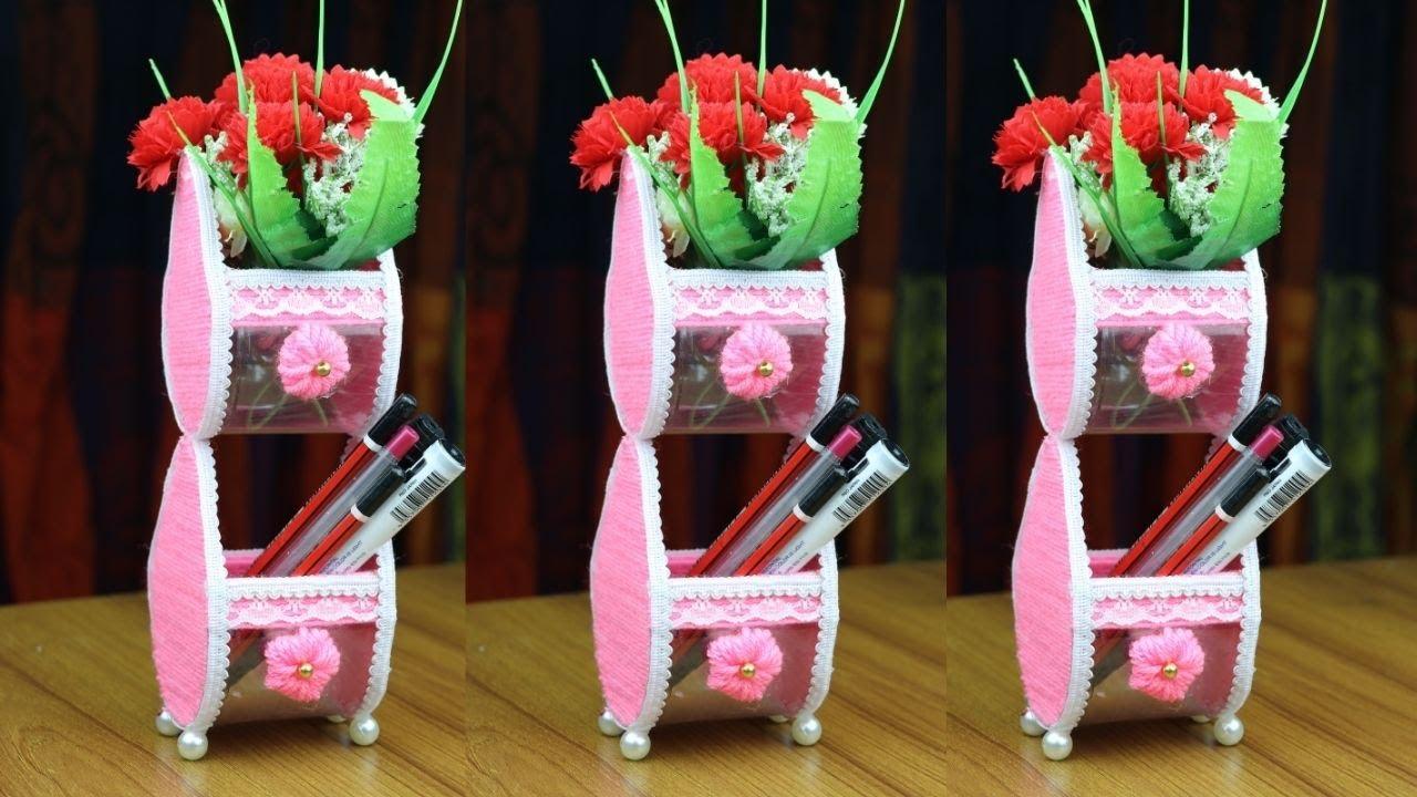 DIY Craft/ Woolen Craft Idea/ Plastic Bottle Craft/ Cardboard craft/ RAK making ideas for home