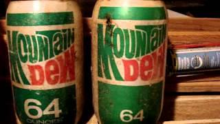 Vintage 2 Liter & 64oz Soda Bottles