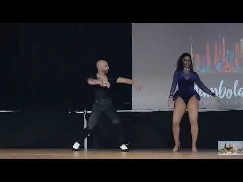Танцуют Жорж Атака и Таня Ла Алимана.