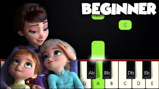 All Is Found - Frozen 2 | BEGINNER PIANO TUTORIAL + SHEET MUSIC by Betacustic