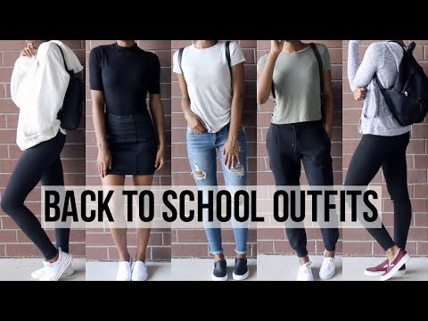 Back To School Outfit Ideas 2017-18