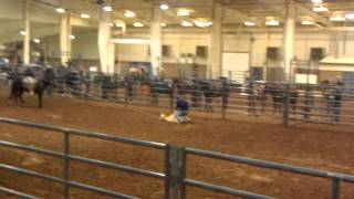 Jay Carroll at Ultimate Calf Roping in Duncan, OK (1st Round)