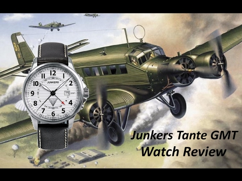 Junkers Tante JU GMT Watch Review: Are Quartz Watches Pure Evil!?