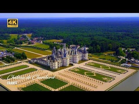 4K - Château de Chambord - France - Better colors