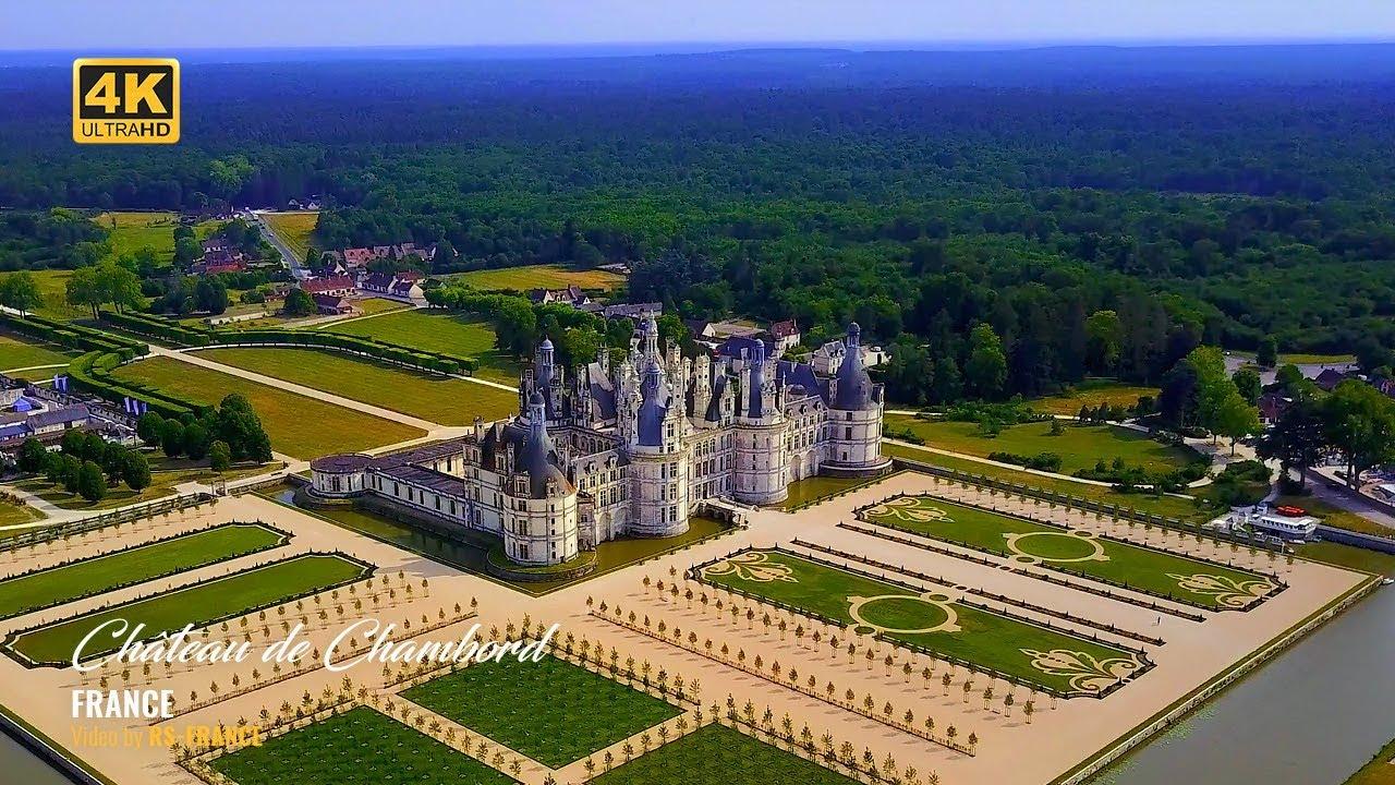 Très 4K - Château de Chambord - France - Better colors - YouTube RK24
