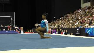 Simone Biles - Floor Exercise – 2015 Secret U.S. Classic