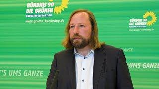 Anton Hofreiter zum Abbruch der Sondierungsgespräche