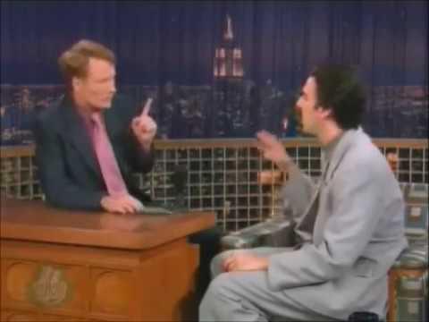 Borat on Conan O'Brien Show (07-14-04)