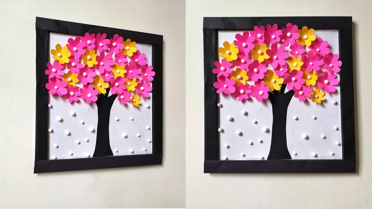 How To Decorate Your Wall Easily | Easy Wall Decoration Ideas | Wall Hanging Ideas |