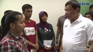 Visit to the family of Killed-In-Action (KIA) Soldier in Jolo, Sulu 5/27/2017