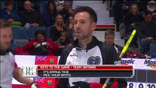 Epping (ON) vs. Jacobs (NO) - 2018 Tim Hortons Brier - Draw 1