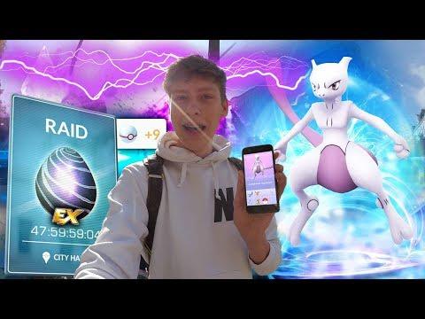 MEWTWO FANGEN!!! EX RAID • Pokemon Go deutsch