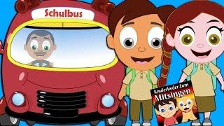 Die Räder vom Bus (Das Buslied)   Kinderlieder zum tanzen und mitsingen   Kinderlieder Deutsch