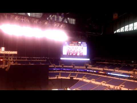 Illinois State University Fight Song At Bands Of America Grand Nationals In Indianapolis