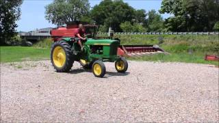 1962 John Deere 2010 tractor for sale | sold at auction July 30, 2014