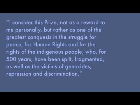 Rigoberta Menchú: Biography and Rhetorical Analysis
