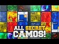HOW TO GET ALL SECRET EXTRA CAMOS IN BLACK OPS 3.. (Black Ops 3 ALL RARE EXTRA CAMOS Unlocked)