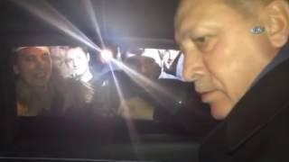 Cumhurbaşkanı Erdoğan İle Rizeli Vatandaş Arasında Renkli Diyalog