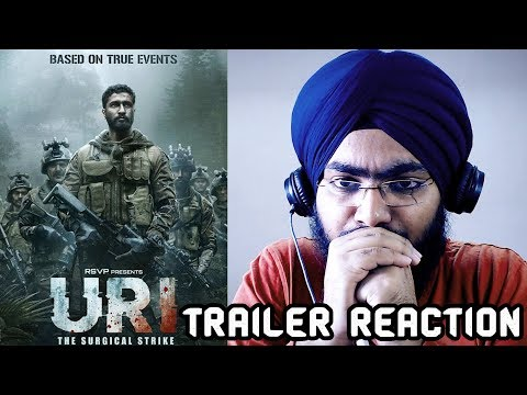 URI Trailer REACTION | Vicky Kaushal, Yami Gautam, Paresh Rawal | Aditya Dhar | 11th Jan 2019
