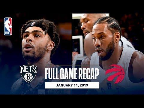 Full Game Recap: Nets vs Raptors | Kawhi Leads Balanced Attack
