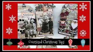 Oversized Christmas Tags
