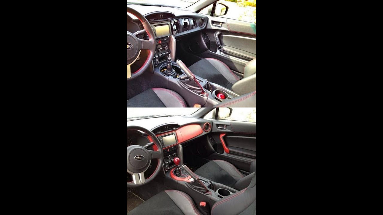 How to remove BRZ/FR-S Interior trim pieces - YouTube